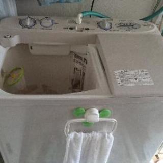 二層式洗濯機あげます。
