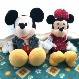 ミッキー+ミニー のぬいぐるみセット