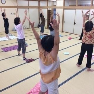 【板橋区】下赤塚 金曜日の朝は「ヨガラジオ体操」でリフレッシュ♪
