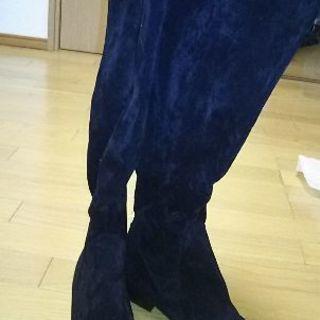 Lサイズ 黒ロングブーツ 新品未使用