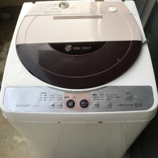 SHARP洗濯機   5.5kgジ...