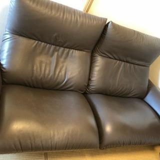2人掛けリクライニングソファー