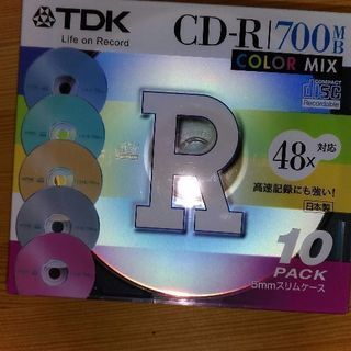 新品未開封★ TDK CD-R Color mix