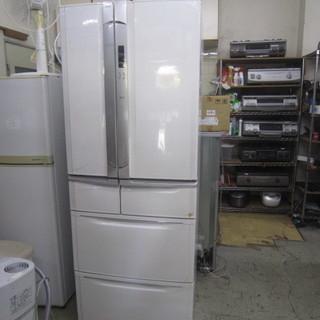 TOSHIBA観音開き冷蔵庫400L 製氷機能付の画像