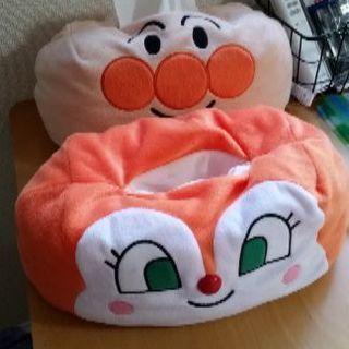 【断捨離】アンパンマン ドキンちゃん ティッシュカバー新品