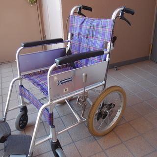 車椅子 カワムラサイクル社製 KAシリーズ アルミフレーム 程度:良