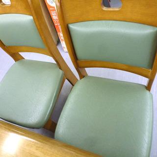 手稲リサイクル 4人掛け ダイニングセット 木目 椅子4脚付 ¥16,800- - 札幌市