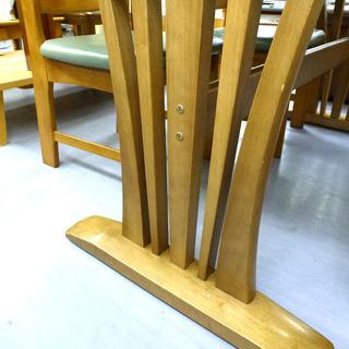 手稲リサイクル 4人掛け ダイニングセット 木目 椅子4脚付 ¥16,800- - 売ります・あげます