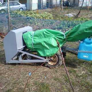 除雪機:耕うん機用除雪板
