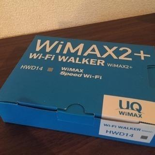WiMax2+ ポケットWi-Fi UQ