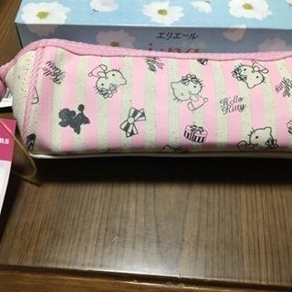 【最終値下げ】キティちゃんの筆箱新品未使用