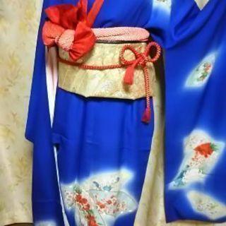 振り袖長襦袢袋帯草履バック小物4点計9点セット