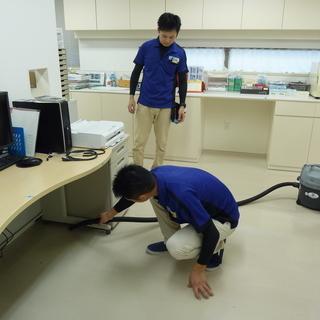 緊急:福岡市内にて複数クリニックの定期清掃業務を引き受けて下さる業...