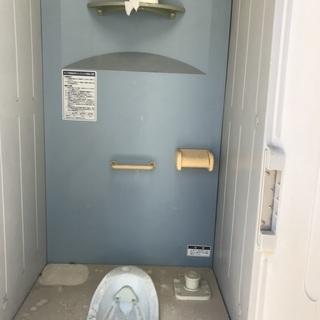 法人様限定 仮設トイレ簡易水洗和式中古 未使用品 メーカー たぶ...