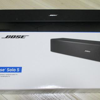 【中古美品】BOSE Solo 5 テレビ用スピーカー サウンドバー