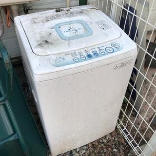 不動の洗濯機