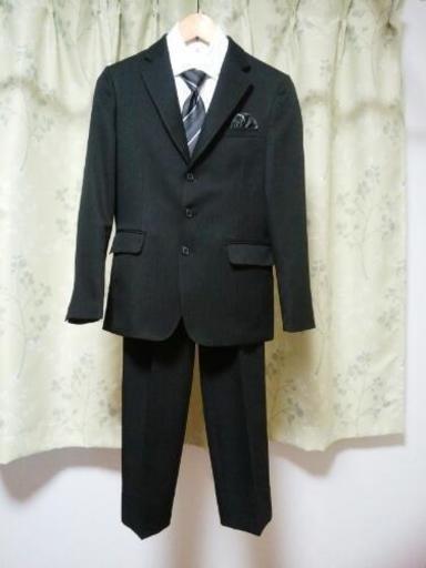 4f034bfb6494d 男児スーツ 160cm 4点セット 卒業式に!美品 (Aki) 習志野のキッズ用品 ...