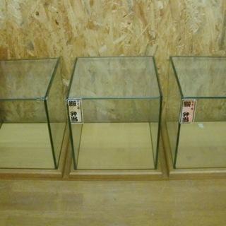 レトロ! ガラス製3連食品サンプルケース③