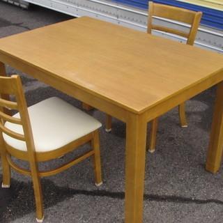 ☆2人用ダイニングセット☆テーブル・椅子2脚セット☆