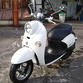 ☆☆ヤマハビーノ SA26J 白 低燃費水冷4スト