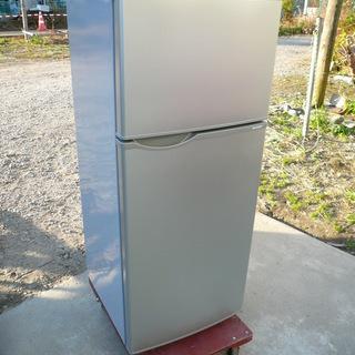 【美品】シャープ SJ-H12W 2ドア パーソナル冷蔵庫 118L