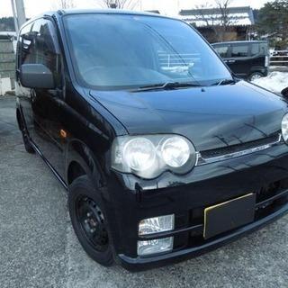 【8万円】 ムーヴ カスタムX オートマ 4WD 冬タイヤ履き