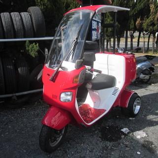 ジャイロキャノピー ミニカー使用 自賠責付き タイヤ新品