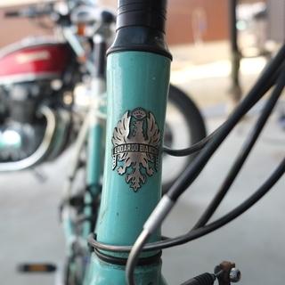 ビアンキローマ2 クロスバイク 古いけど整備少ししてました。