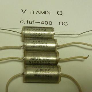 本物 SPRAGUE VITAMIN Q オイルコンデンサーはいかが?