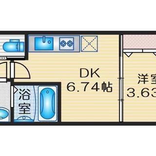 【緑地公園、1DKの新築】3月末から入居可!転勤の方、新社会人の...