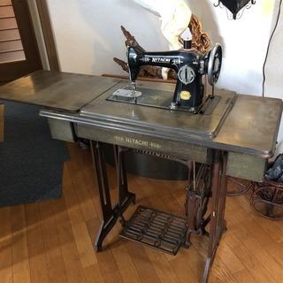足踏みミシン  アンティーク 鉄足 テーブル