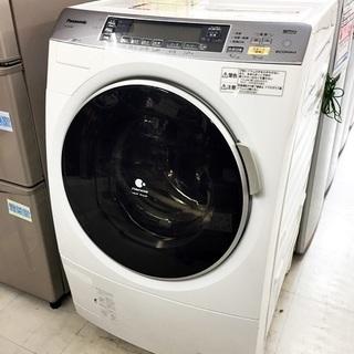 中古 Panasonic パナソニック ドラム式 洗濯乾燥機 洗濯...