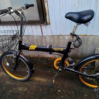 【パンクなし】折りたたみ自転車(直接引き取りのみ)