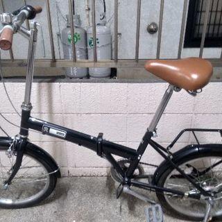 折りたたみ自転車 6段変速 20インチ