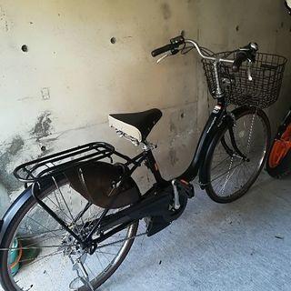 電動自転車、新品同様ヤマハPASリチウムイオンバッテリー12.3