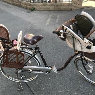 [整備済み]人気の3段ギア付き3人乗り自転車 ※プレゼントあり