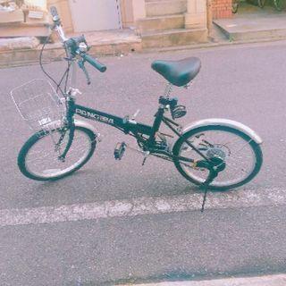 【取り合わせ中】20インチ6段変速 折りたたみ自転車