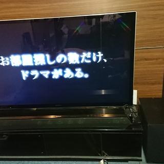 SONY 55インチテレビ&ホームシアターシステム&ローボードセット