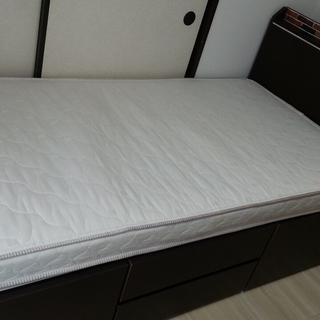 ニトリ 収納付きベッド&マットレス