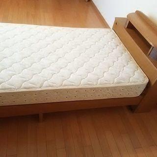 シングルベッド ➕ フランスベッドマットレス