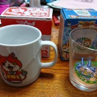 妖怪ウォッチのグラスとマグカップ