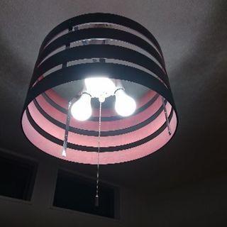 LED電球3個つき照明