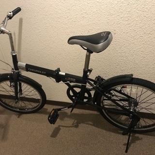 (新品)シボレー折りたたみ自転車