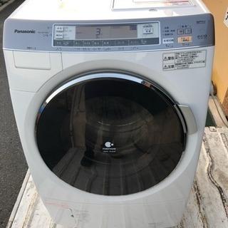 パナソニック ドラム式洗濯機 2012年製 エコナビ ナノイー 全...