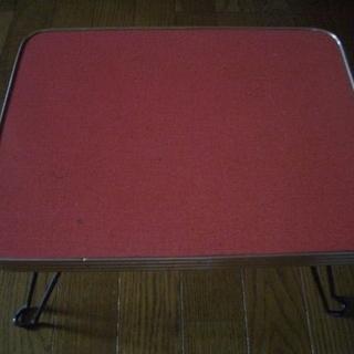 足を折りたたみできる小テーブル☆昭和レトロ