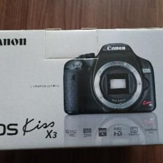 Canon EOS kiss X3 一眼レフ