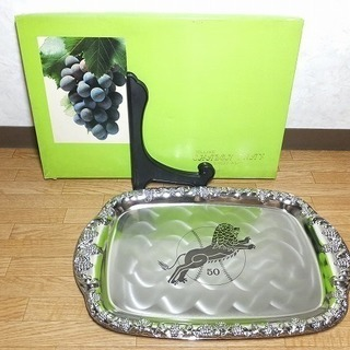 DELUXE CHALON TRAY トレー お盆 レトロ 未使用