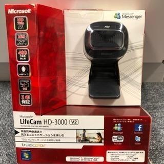 未使用 WEBカメラ LifeCam HD-3000