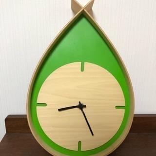 北欧 木の時計 定価5000円