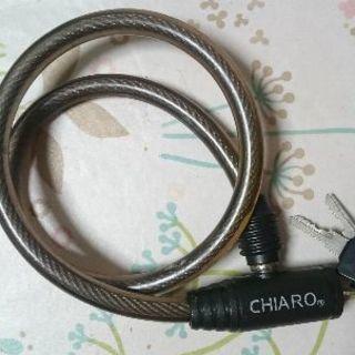 CHIROワイヤーロック カギ3本付